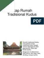 Atap Rumah Tradisional Kudus