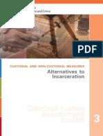 Alternatives Incarceration