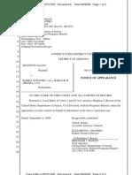 ALLEN v SOETORO - 8 - NOTICE of Appearance by Brigham J Bowen on behalf of Hillary Clinton, Eric Holder, Janet Napolitano, Barry Soetoro, U.S. Citizenship and Immigration Services (Bowen, Brigham) (Entered