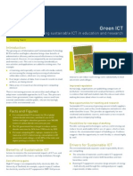How to green ICT