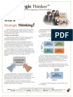 Strategic Thinker Issue 1.2009 - What is Strategic Thinking