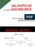 Arterial Suppply of Head&Neck