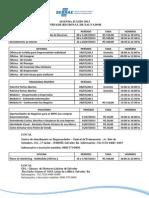 Agenda de Cursos Oficinas e Palestras Do SEBRAE Bahia Julho-Setembro 2013