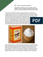 Bicarbonatul de Sodiu