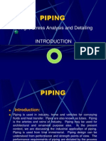 Introduction of Piping
