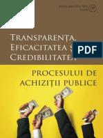 Transparenta Si Eficacitatea in Achizitii publice