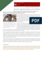 """Darwinismo laboral "" - Arancha Bustillo - 04-01-2014 -Expansión - Emprendedores & Empleo -"