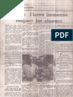 Interview Screen Magazine August 31 1984