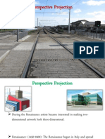 Perspective Projection PowerPoint Ppt