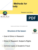 Research and Ethics