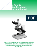 Buku Perawatan Alat Lab Biologi
