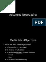Advanced Negotiating