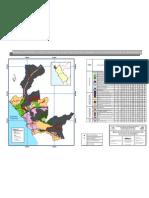 Mapa de la Propuesta de Zonificación Ecologica Económica de la Provincia  de Barranca