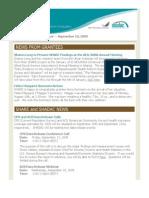 SHARE Grantee Newsletter September 2009
