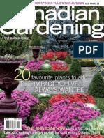 Canadian gardening 2009 Fall
