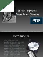 MEMBRANÓFONOS