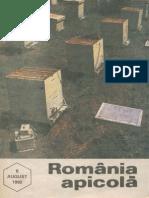 Romania Apicola 1992 Nr.8 August