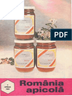 Romania Apicola 1993 Nr.4 Aprilie