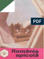 Romania Apicola 1993 Nr.8 August