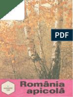 Romania Apicola 1993 Nr.11 Noiembrie