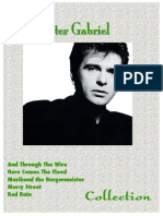 Collection Peter Gabriel 31 PVC