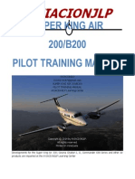 Be 200 Pilot's Training Manual Jlp