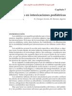 Capitulo 7 - Antidotos en Intoxicaciones Pediatricas