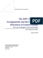 The IMF's Stand-by Arrangements and the Economic Downturn in Eastern Europe