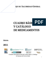 Cuadro Basico de Medicamentos 2011