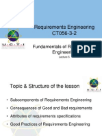 Week 5 - Lecture 1 - Fundamental of RE