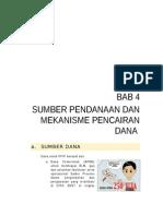 BAB 4 Sumber Pendanaan Dan Mekanisme Pencairan Dana_edit