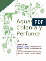Aguas de Colonia y Perfumes