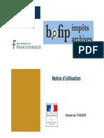 Aide en ligne BOFiP-Impôts-Archives