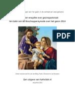 Uitkomsten enquête over gezinspastoraat - Katholiek.nl