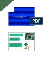 Conceitos Em Ecologia e Ecossitemas