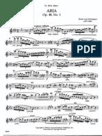 Dohnanyi - Aria, Flute