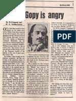 Interview Jan 17, 1992 Indian Express