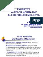 Expertiza Acte Normative