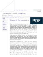 The Railway Children - Chapter 1 - The Beginning of Things
