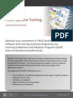 SpotfireEducationServicesBrochure 2012