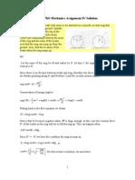 Mechanics 4 Solution
