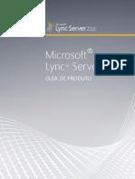 LyncServer2010ProductGuide PT BR