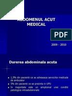 Abdomenul Acut Medical