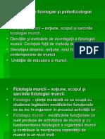 Bazele fiziologiei muncii