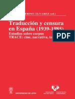 Merino Alvarez [2008] Traduccion y Censura en Espana (1939-1985)_UPV