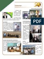Boletin 109 Informe Misionero Brasil Julio 2009