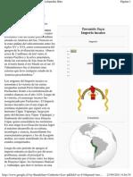 Imperio Incaico - Wikipedia, La Enciclopedia Libre