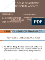 Adverse Drug Reactions of Antimicrobial Agents(1)