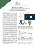 ARTIGO DO COF-300 a Crystalline Imine-Linked 3-D Porous Covalent Organic Framework