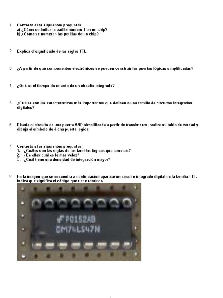 Circuito Significado : Ud 6 electronica digital. circuitos integrados ss